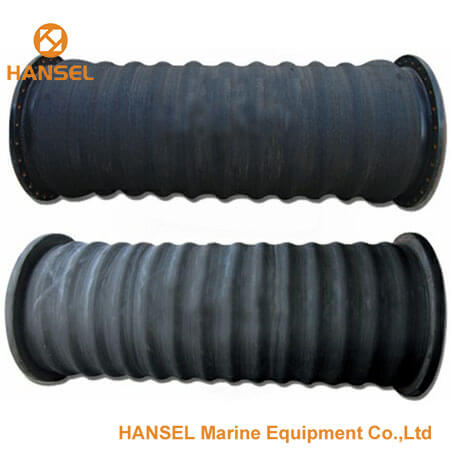 Steel/Rubber Flange Suction Hose