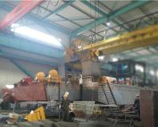 Fire-fighting equipment for cutter suction dredger